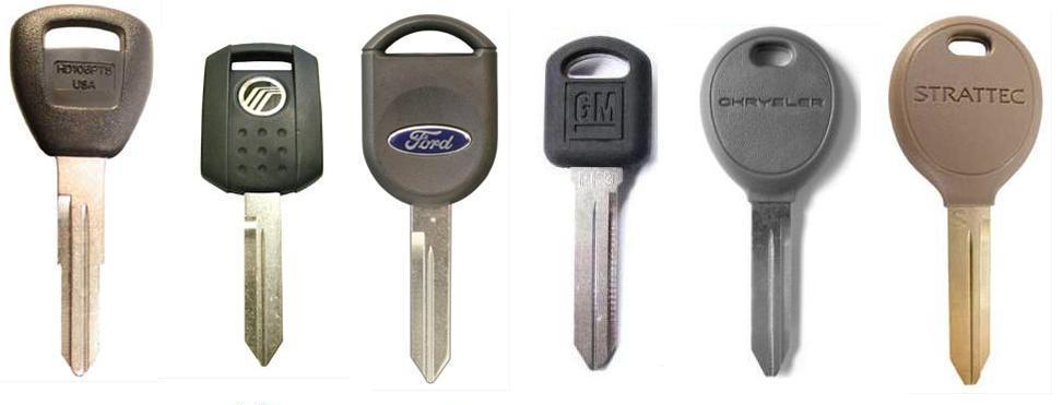Car Key Blanks Uk